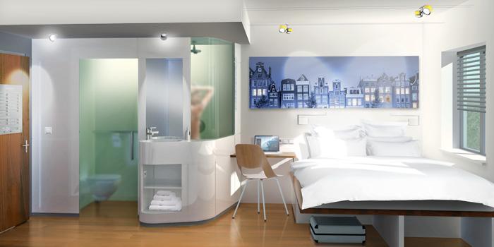 Interieurconcept Hotelkamers | Amsterdam